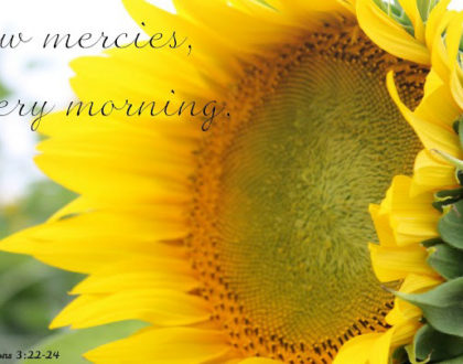 Morning Reflections: Your Time With Jesus Makes The Difference